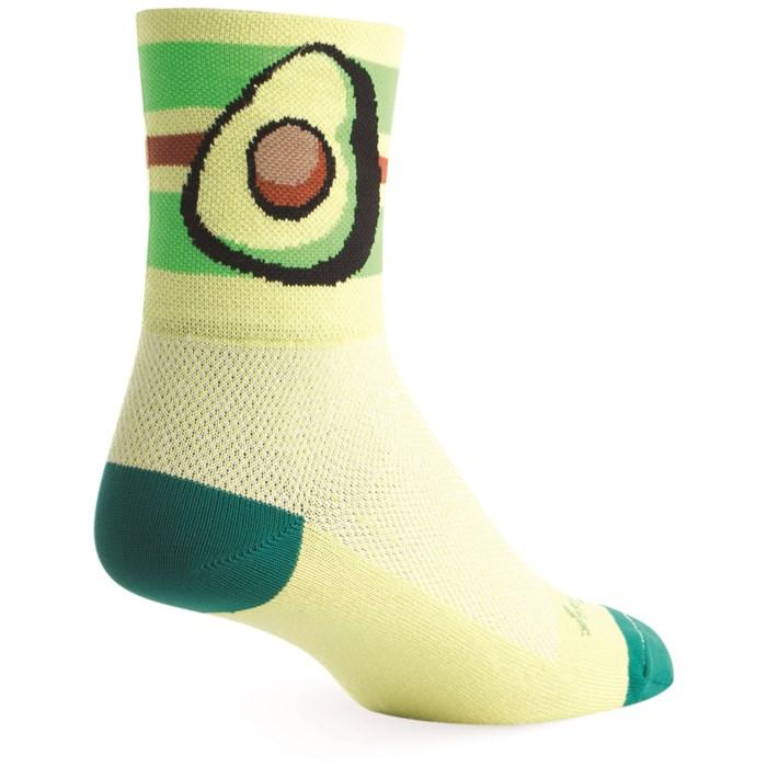 SockGuy - Avocado Bike Socks