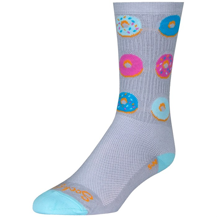"""SockGuy - Glazed 6"""" Crew Socks"""