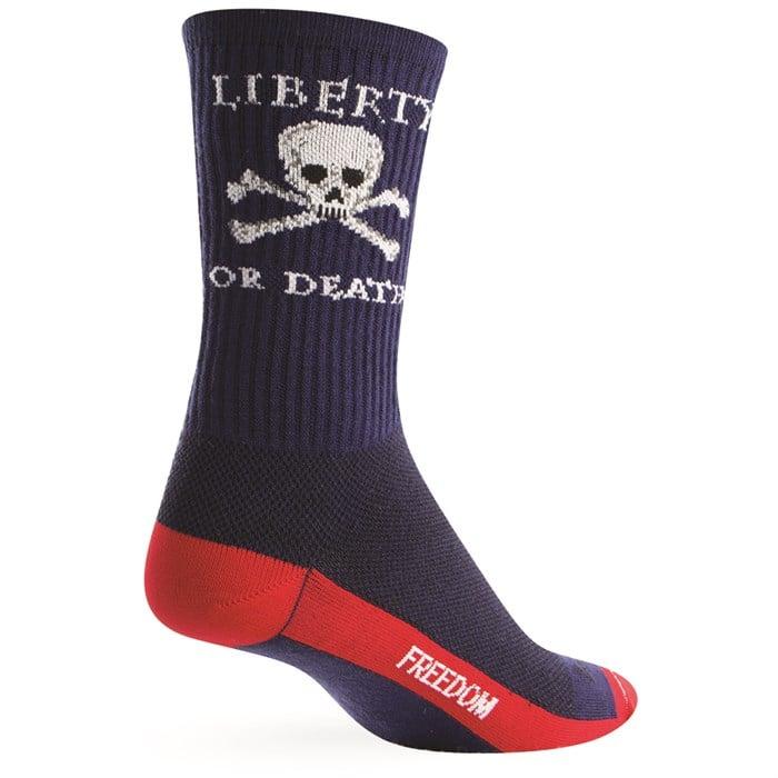 "SockGuy - Liberty or Death 6"" Crew Socks"