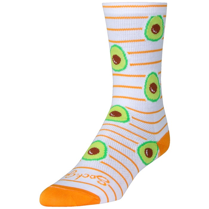 """SockGuy - Ripe 6"""" Crew Socks"""