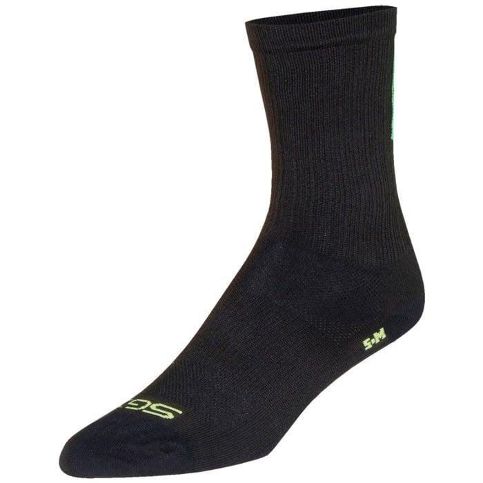 "SockGuy - SGX 6"" Team Skinny Legs Bike Socks"