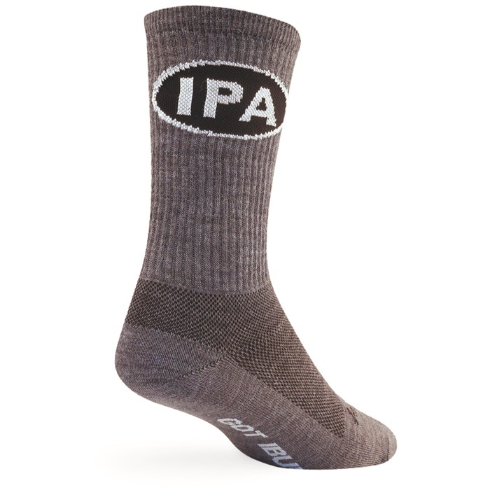"SockGuy - IPA 6"" Wool Crew Socks"