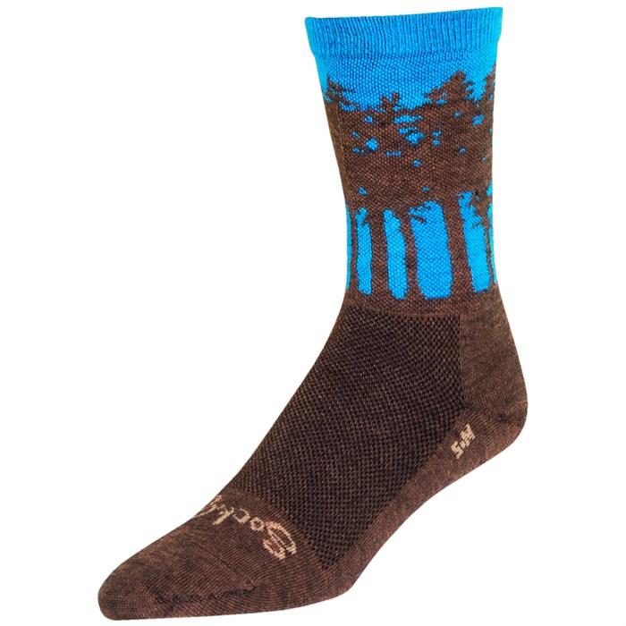 "SockGuy - Treeline 6"" Wool Crew Socks"