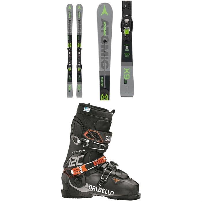 Atomic - Redster X9 WB Skis + X 12 TL GW Bindings + Dalbello Krypton AX 120 ID Ski Boots 2020