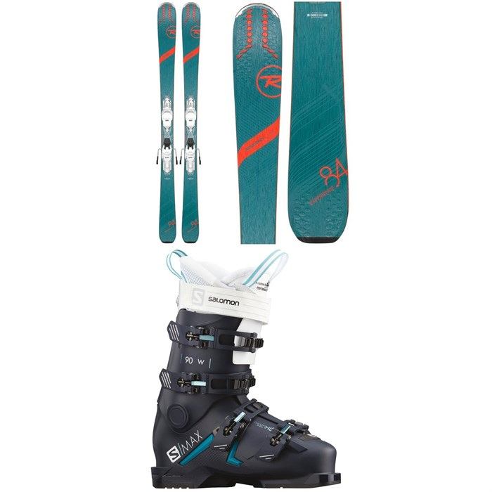 Rossignol - Experience 84 Ai W Skis + Xpress 11 Bindings + Salomon S/Max 90 W Ski Boots - Women's 2020