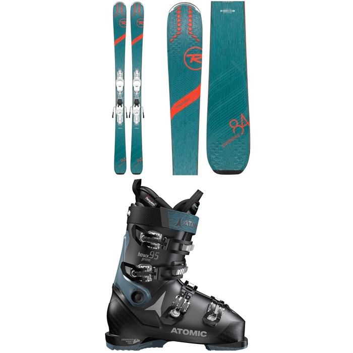 Rossignol - Experience 84 Ai W Skis + Xpress 11 Bindings + Atomic Hawx Prime 95 W Ski Boots - Women's 2020