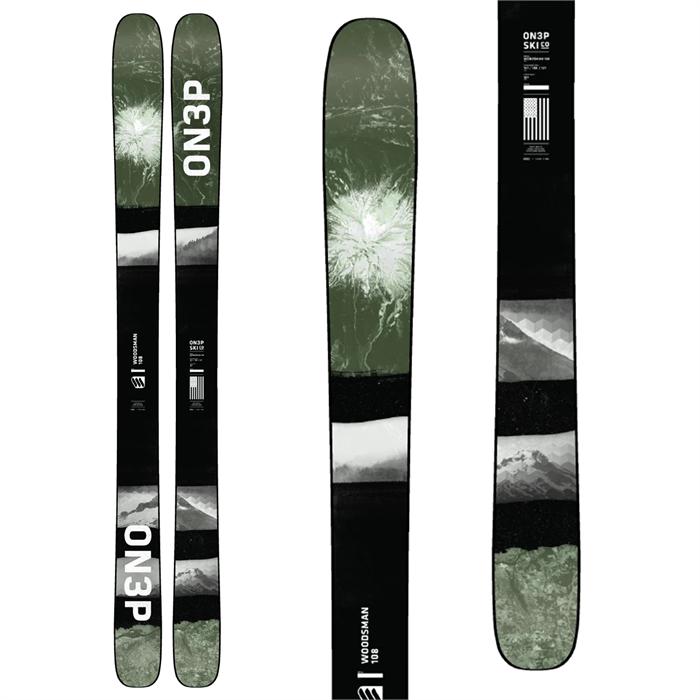 ON3P - Woodsman 108 Skis 2021