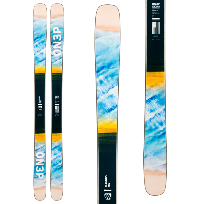 ON3P - Magnus 102 Skis 2021
