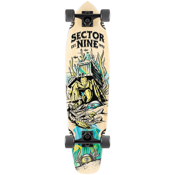 Sector 9 - Fortune Ft. Point Longboard Complete