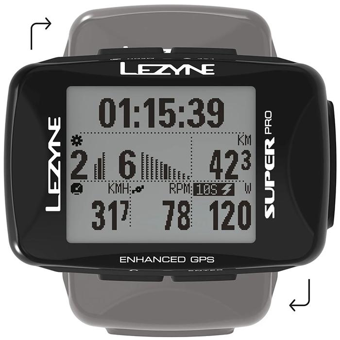 Lezyne - Super Pro GPS Bike Computer