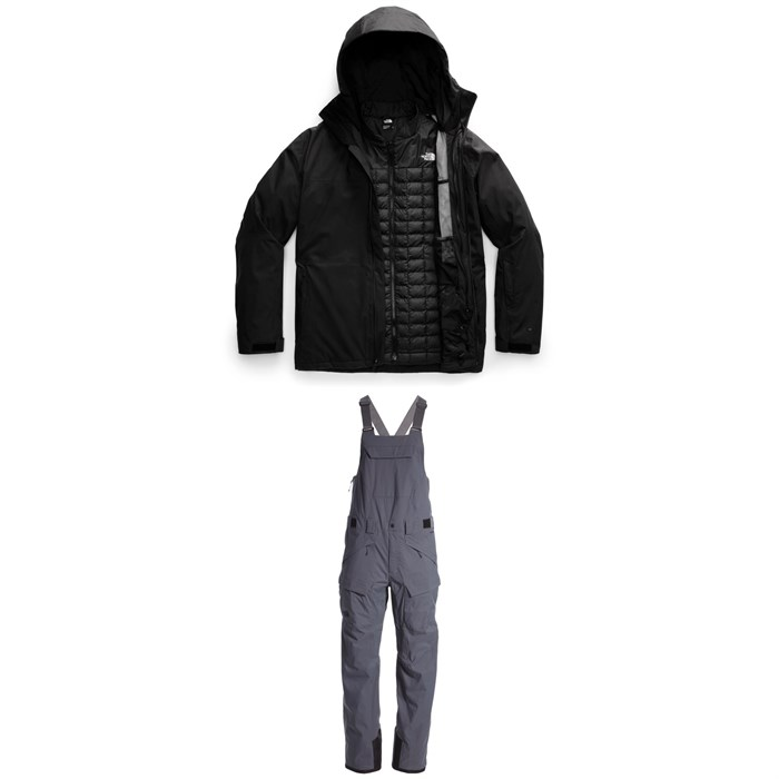 The North Face - ThermoBall™ Eco Snow Triclimate® Jacket + Freedom Bibs