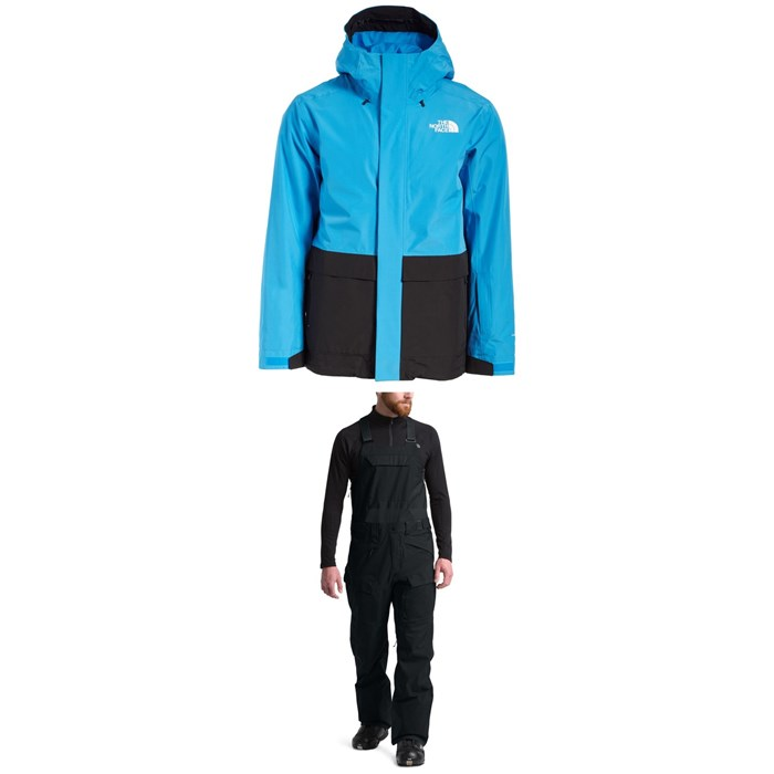 The North Face - Clement Triclimate® Jacket + Freedom Bibs
