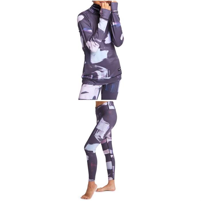 Burton - Midweight Long-Neck Top + Midweight Pants - Women's