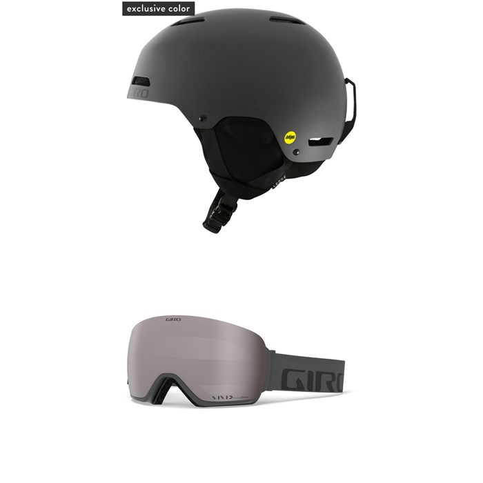 Giro - Ledge MIPS Helmet + Article Goggles