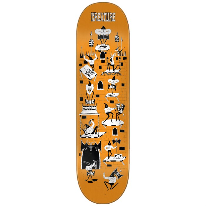 Creature - Free For All SM Powerply 8.0 Skateboard Deck