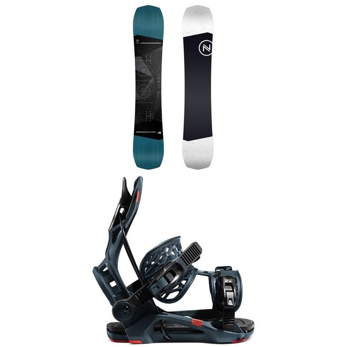 Nidecker - Sensor Snowboard + Flow Fenix Snowboard Bindings 2021