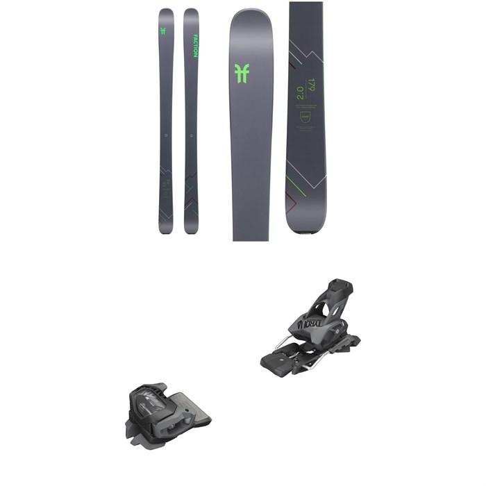 Faction - Agent 2.0 Skis 2020 + Tyrolia evo Attack² 13 GW Bindings
