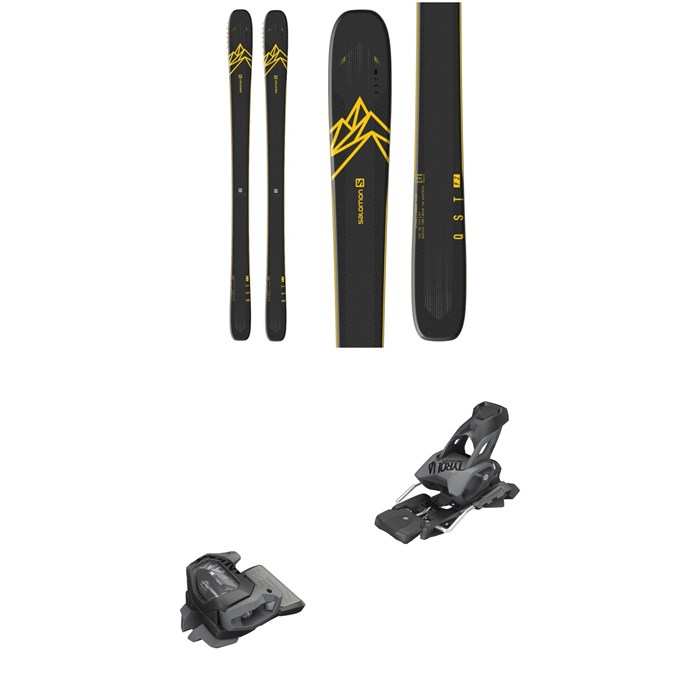 Salomon - QST 92 Skis 2020 + Tyrolia evo Attack² 13 GW Bindings