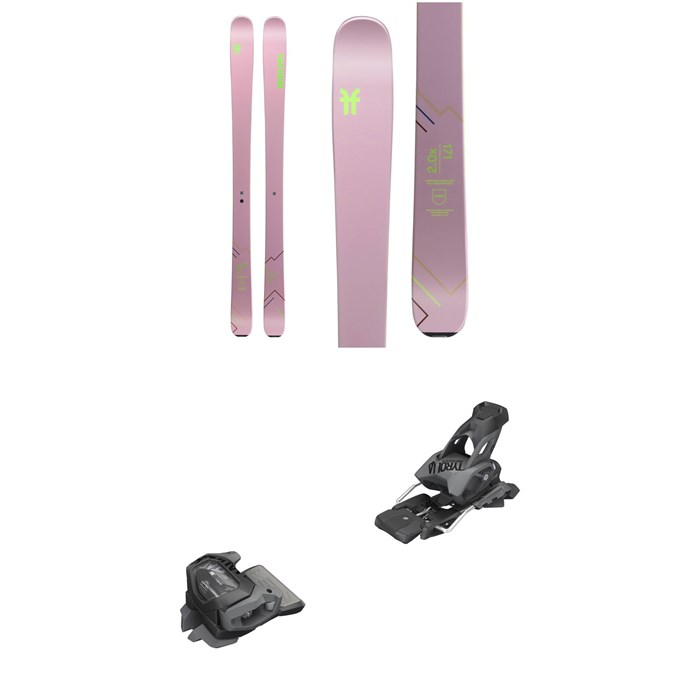 Faction - Agent 2.0X Skis - Women's 2020 + Tyrolia evo Attack² 13 GW Bindings