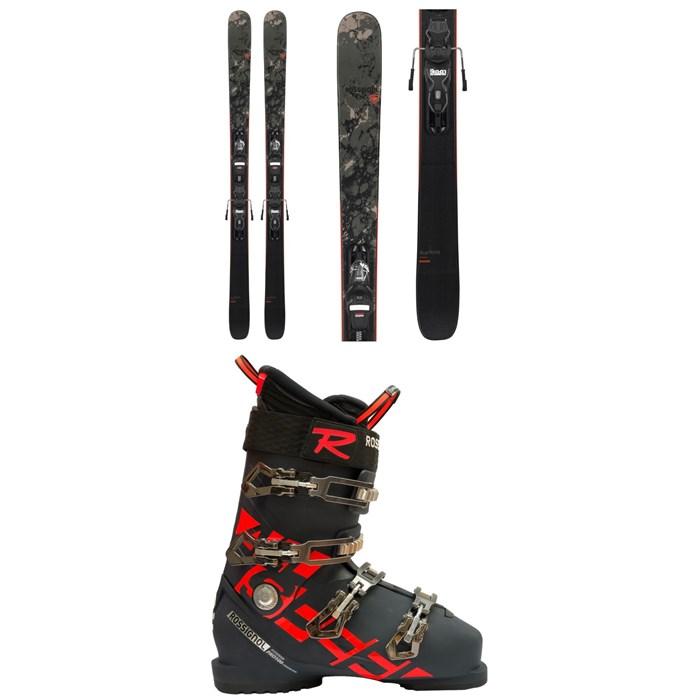 Rossignol - Black Ops Smasher Skis + Xpress 10 GW Bindings 2021 + Allspeed Pro 100 Premium Ski Boots