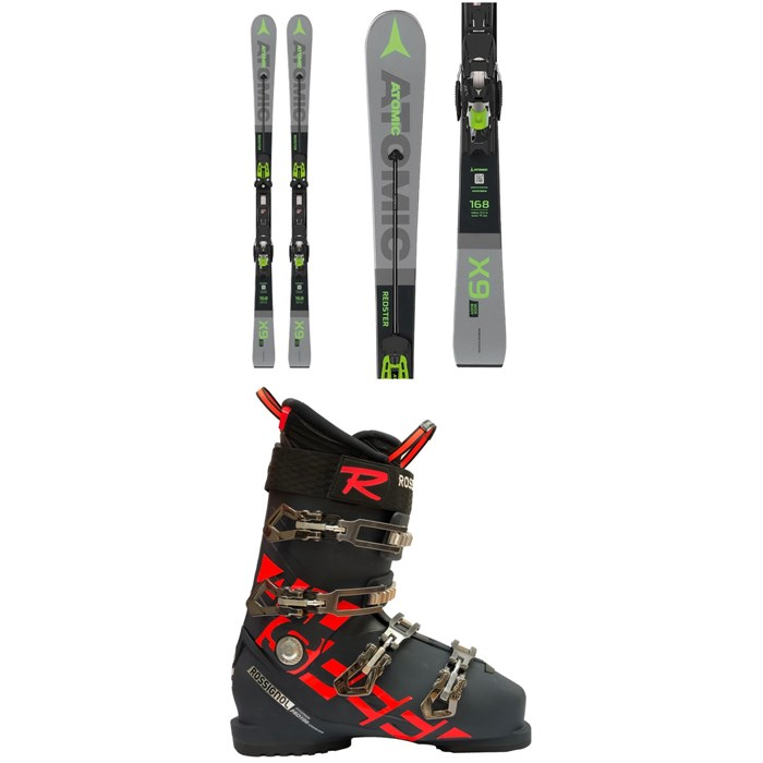 Atomic - Redster X9 WB Skis + X 12 TL GW Bindings 2020 + Rossignol Allspeed Pro 100 Premium Ski Boots
