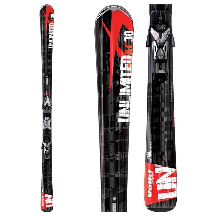 Volkl Ac30 Skis + Marker IPT 12.0 Piston Bindings 2009