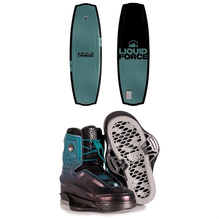 Liquid Force - Trip LTD + Riot 6X Wakeboard Package 2020