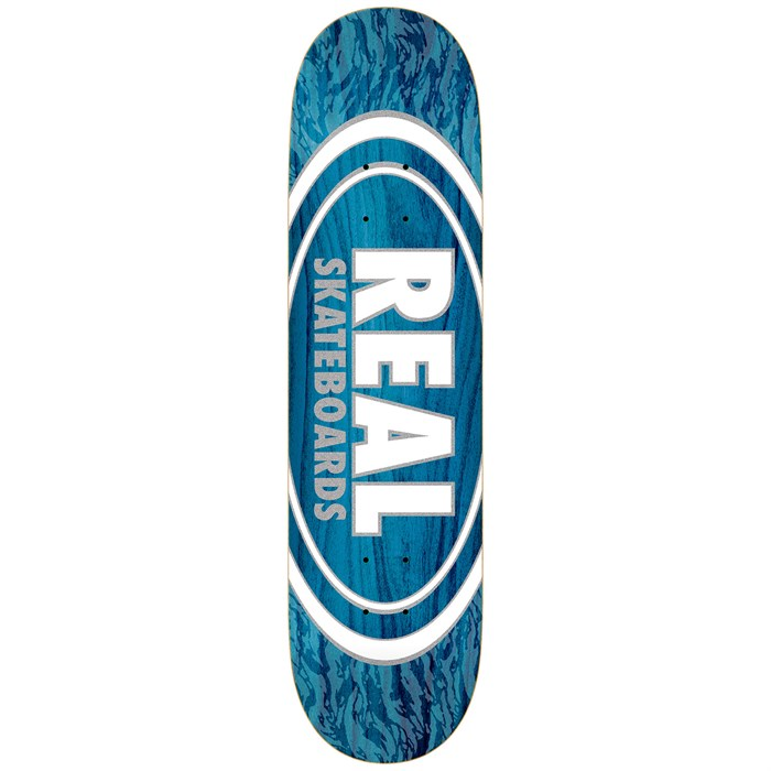 Real - Oval Pearl Patterns 8.06 Skateboard Deck
