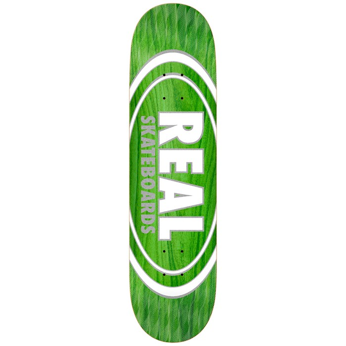 Real - Oval Pearl Patterns 8.5 Skateboard Deck