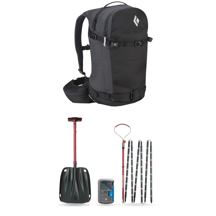 Black Diamond - Dawn Patrol 32 (M/L) Pack + Recon BT Avalanche Safety Package