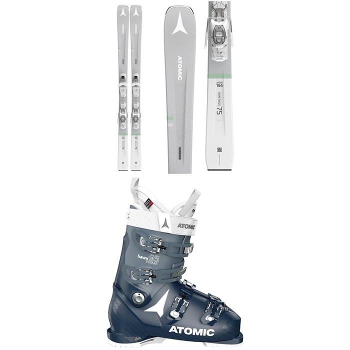 Atomic - Vantage W 75 Skis + M 10 GW Bindings + Hawx Prime 95 W Ski Boots - Women's 2021