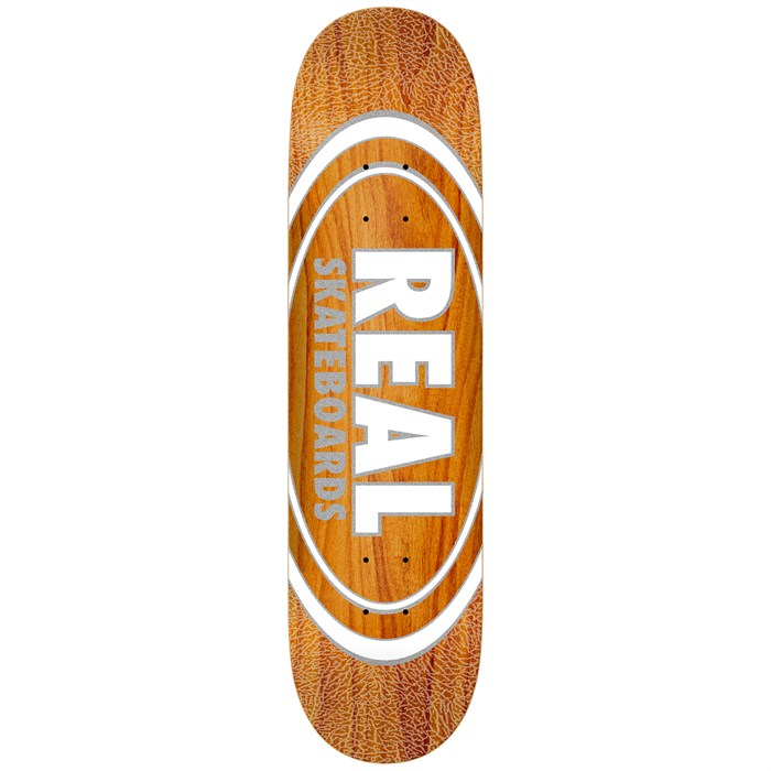 Real - Oval Pearl Patterns 8.38 Skateboard Deck