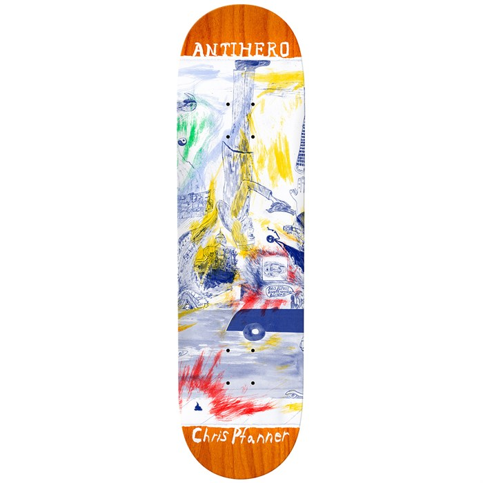 Anti Hero - Pfanner SF Then And Now 8.6 Skateboard Deck