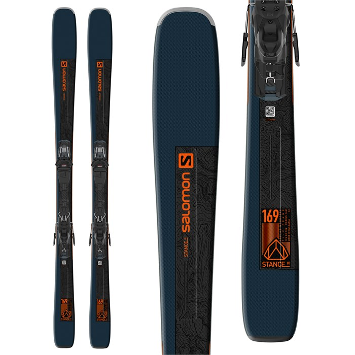 Salomon - Stance 80 Skis + M11 GW Bindings 2022