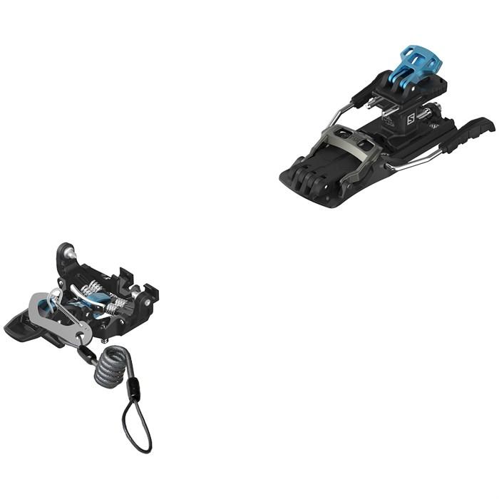 Salomon - MTN Pure (with Leash and Brake) Alpine Touring Ski Bindings 2022