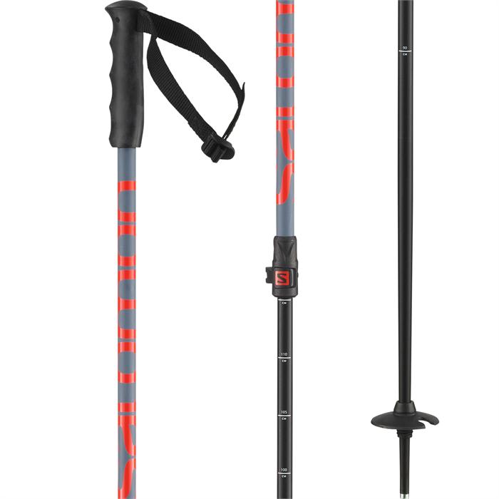 Salomon - MTN Jr Adjustable Ski Poles - Kids' 2022