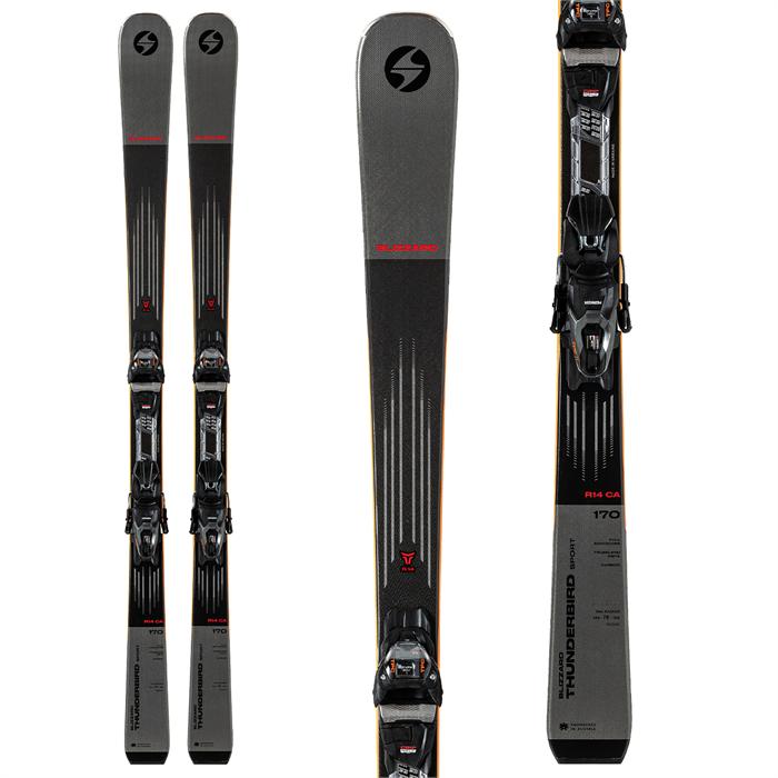 Blizzard - Thunderbird Sport Ca Skis + TPC 11 Bindings 2022