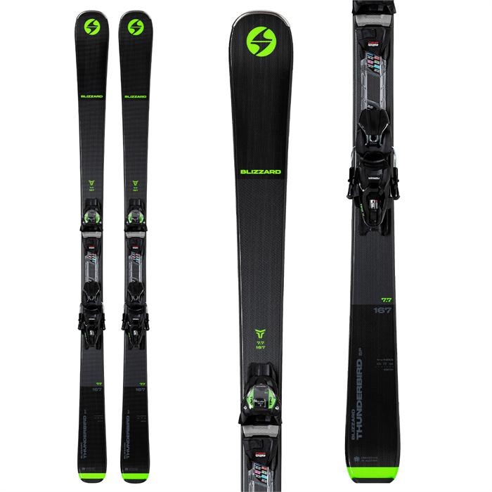 Blizzard - Thunderbird SP 7.7 Skis + TPC 11 Bindings 2022
