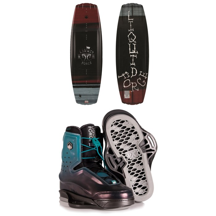 Liquid Force - Classic + Riot 6X Wakeboard Package 2020