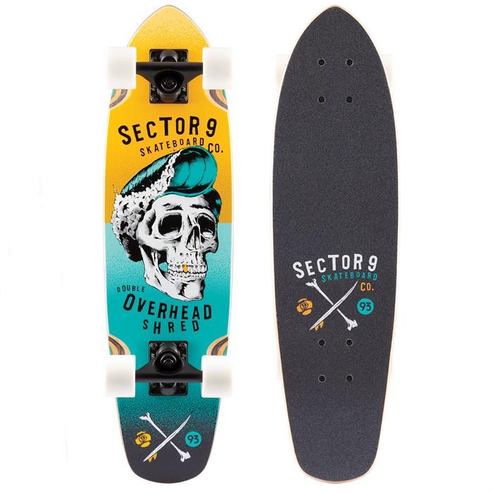 Sector 9 - Hair Barrel Hopper Cruiser Skateboard Complete