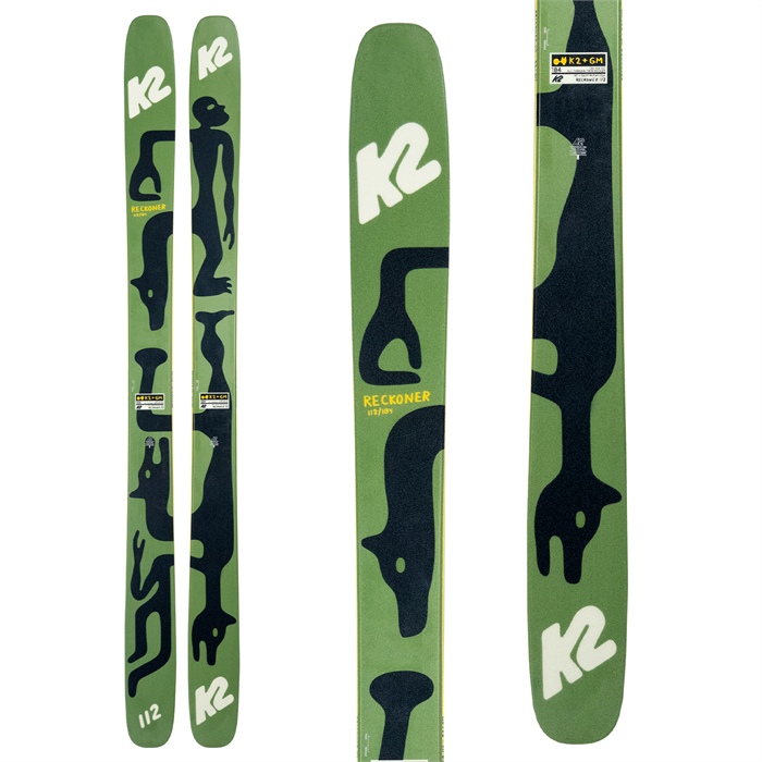 K2 - x Geoff McFetridge Reckoner 112 Skis 2021