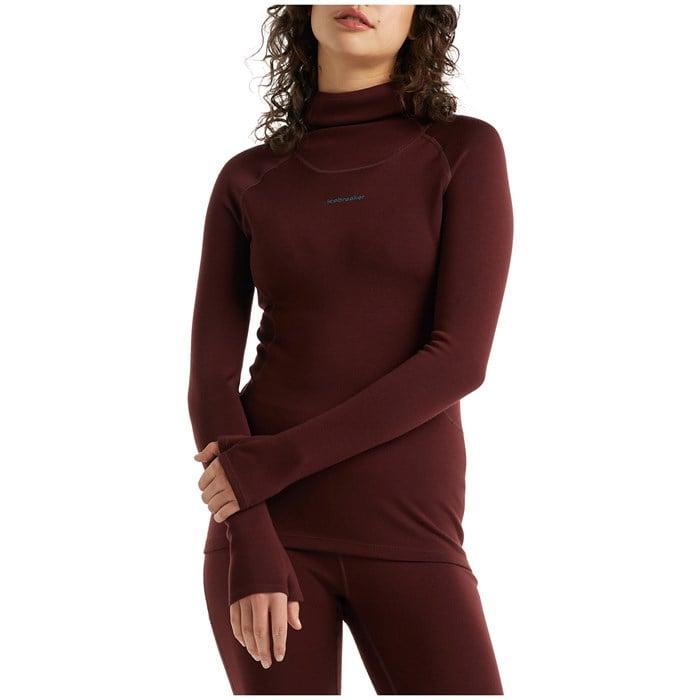 Icebreaker - Merino Long Sleeve Roll Neck Top - Women's