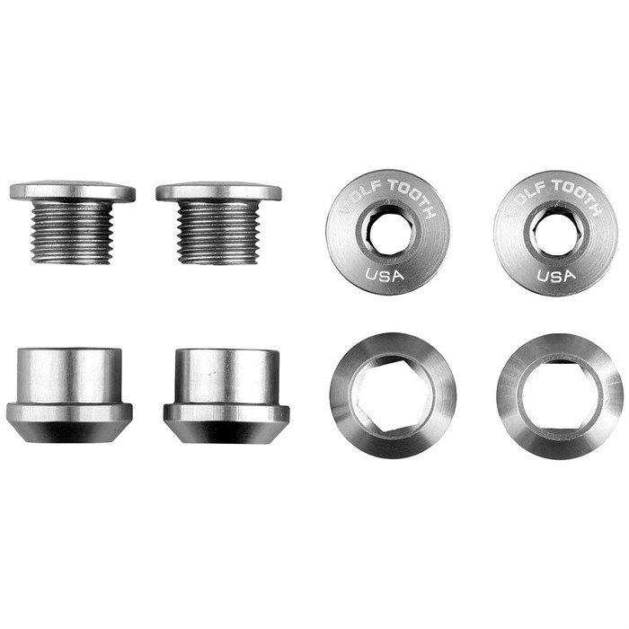 Wolf Tooth Components - 6mm, 1X Chainring Bolts