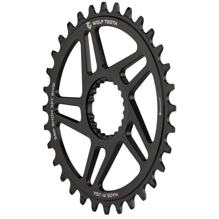 Wolf Tooth Components - Direct Mount Chainring for Shimano Cranks