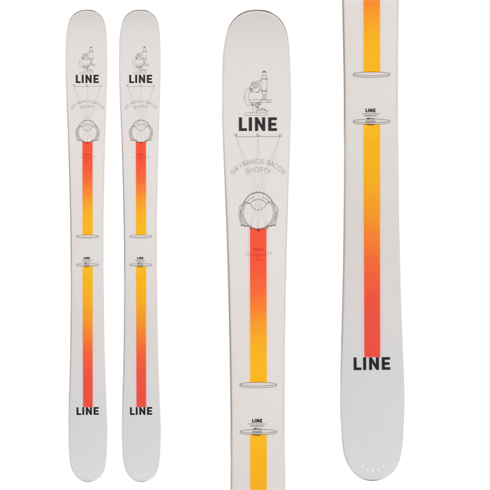 Line Skis - Sir Francis Bacon Shorty Skis - Boys' 2022