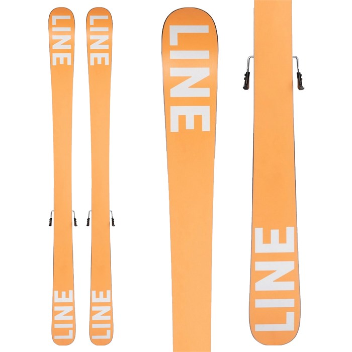 Line Skis - Tom Wallisch Shorty Skis + FTD 7.0 Bindings - Big Boys' 2022