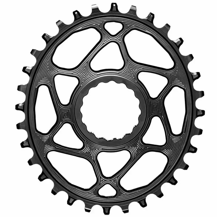 absoluteBLACK - Race Face Direct Mount Boost Oval Chainring for Shimano HG+ 12 spd
