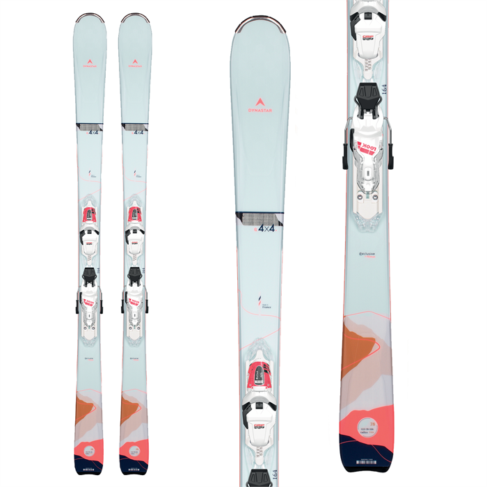 Dynastar - E 4X4 3 Skis + XP 11 Bindings - Women's 2022