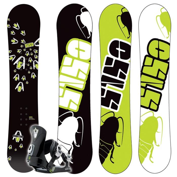 5150 Reaction Snowboard + Ff1000 (Black) Bindings