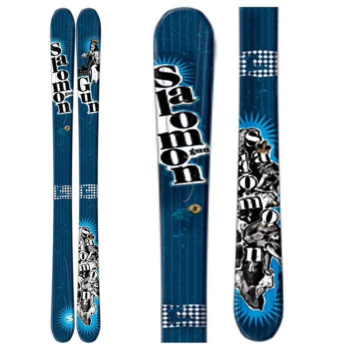 Salomon - Gun Skis 2009